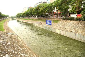 Xả nước cuốn bay kết quả thử nghiệm sông Tô Lịch của Nhật để chống ngập