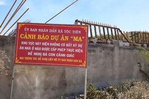 Bà Rịa - Vũng Tàu hàng trăm dự án 'ma' hoạt động không phép