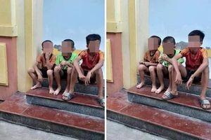 Nghệ An: Sự thật 3 cháu nhỏ bị đưa đi xa nhà gần trăm km sau khi lên xe của người lạ