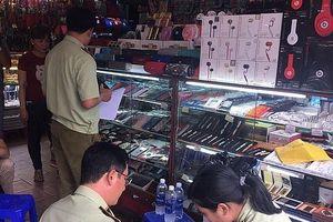 TPHCM: Tạm giữ trên 1.800 sản phẩm không có hóa đơn chứng từ