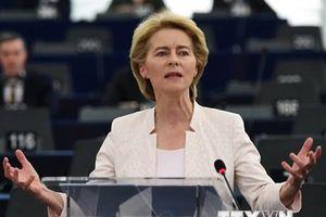 Bà von der Leyen trở thành nữ Chủ tịch EC đầu tiên trong lịch sử