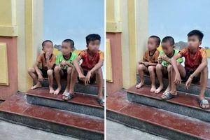 Nghệ An: Nghi án 3 bé trai bị bắt cóc khi đang đạp xe đi chơi
