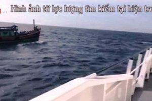 Tiếp tục tìm kiếm 9 ngư dân mất tích trên biển
