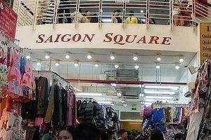 Đột kích Sài Gòn Square, thu giữ hàng nghìn sản phẩm giả mạo nhãn mác