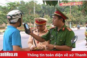 Công an huyện Vĩnh Lộc: Xử lý 250 trường hợp vi phạm trật tự an toàn giao thông