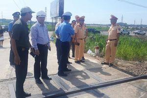 Cảnh báo nguy cơ tai nạn đường sắt qua Quảng Ngãi tăng cao
