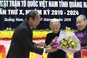 Ông Võ Xuân Ca tái đắc cử Chủ tịch UBMTTQ Việt Nam tỉnh Quảng Nam