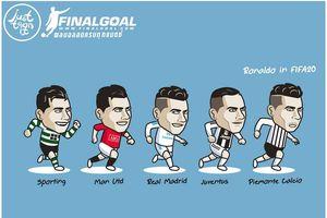 Biếm họa 24h: Ronaldo bất ngờ đầu quân cho đội bóng lạ hoắc
