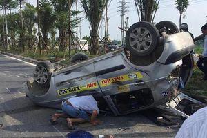 Gây tai nạn liên hoàn rồi bỏ trốn, tài xế xe ô tô bị công an Hà Nội tóm gọn