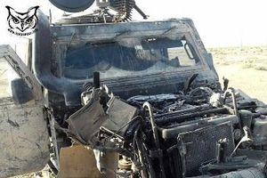 Xe bọc thép Nga chuẩn NATO bị trúng mìn của quân đội Syria