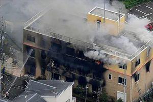 Phóng hỏa tại xưởng phim hoạt hình Nhật khiến 13 người thiệt mạng