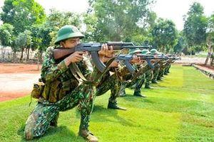 Nâng chất lượng huấn luyện gắn với xây dựng địa bàn chiến lược Tây Nguyên