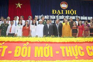 Ông Võ Xuân Ca tái đắc cử Chủ tịch UBMTTQVN tỉnh Quảng Nam