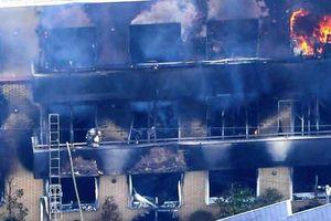 Cháy lớn ở xưởng hoạt hình nổi tiếng ở Nhật Bản