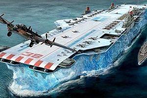 Táo bạo tham vọng dùng băng đóng tàu sân bay Thế chiến 2