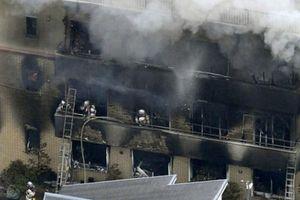 Cháy lớn tại xưởng phim hoạt hình nổi tiếng tại Nhật Bản, ít nhất 12 người thiệt mạng