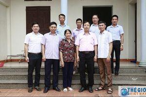 Công đoàn Bộ Ngoại giao tiếp tục triển khai hoạt động đền ơn đáp nghĩa