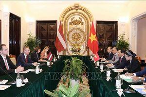 Tạo thuận lợi để các mặt hàng Việt Nam xuất khẩu sang Latvia
