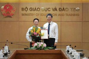 Bộ Giáo dục bổ nhiệm Phó Chánh văn phòng mới