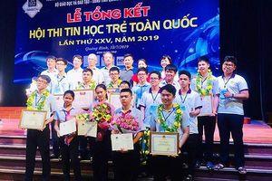 Đà Nẵng lần thứ 4 liên tiếp dẫn đầu Hội thi Tin học trẻ toàn quốc