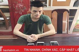 Thiếu tiền chơi game, thanh niên Can Lộc sang nhà hàng xóm 'chôm' tài sản