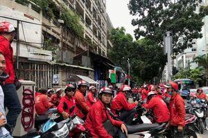 Tài xế Go-Viet đình công phản đối chính sách mới