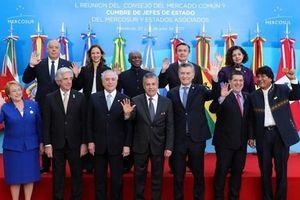 Mercosur ủng hộ thúc đẩy các thỏa thuận thương mại mới