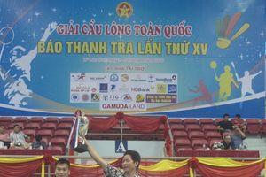 23 đoàn tham dự Giải Cầu lông toàn quốc Báo Thanh tra lần thứ 16