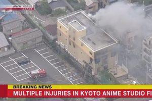 Xưởng phim hoạt hình bị phóng hỏa, gần 40 người bị thương