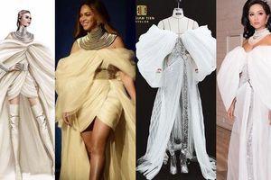 Bộ cánh gây tranh cãi của H'Hen Niê bị nhận xét giống trang phục Beyonce