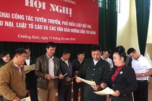 Sơn La: Tăng cường tiếp công dân, giải quyết đơn thư lĩnh vực TN&MT