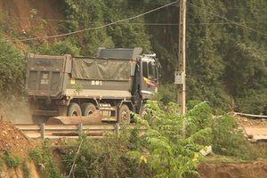 Giám đốc Sở GTVT Sơn La nhận trách nhiệm về tình trạng xe quá tải lưu thông trên quốc lộ 4G