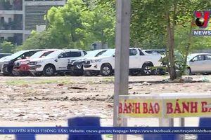 Sử dụng đất công thành bãi giữ xe trái phép