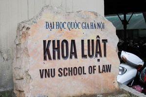 Điểm sàn Khoa Luật - ĐH Quốc gia Hà Nội từ 16,5 điểm