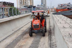 Giải ngân 355 tỷ đồng cho nhà thầu dự án đường sắt Nhổn - Ga Hà Nội