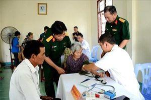 Khám bệnh, tư vấn sức khỏe các đối tượng chính sách tại Thăng Bình, Quảng Nam