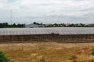 Khánh thành nhà máy điện mặt trời ngay trong trường đại học