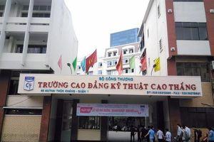 Trường CĐ Kỹ thuật Cao Thắng công bố điểm chuẩn trúng tuyển