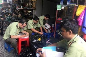 Đồng loạt kiểm tra chợ Bến Thành, Sài Gòn Square, thu giữ hàng ngàn sản phẩm nhái, giả