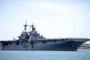 Tàu đổ bộ Mỹ tuần tra biển Ả Rập