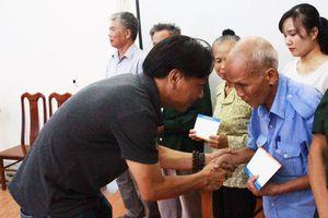 Trao quà tri ân cựu TNXP Nghệ An, Hà Tĩnh