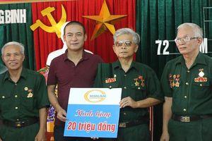 Tập đoàn Him Lam trao quà tri ân thương bệnh binh nặng Nghệ An