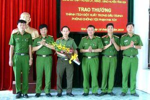 Thanh Hóa: Đánh nhanh án ma túy, Công an huyện Tĩnh Gia được thưởng nóng