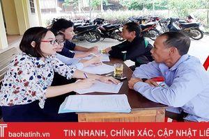 Hà Tĩnh tổ chức 2.874 cuộc phổ biến pháp luật, 493.012 lượt người tham gia