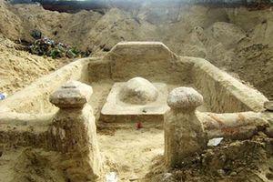 Thực hư về ngôi mộ 'lạ' trước khu vực di chỉ văn hóa đình làng Khuê Bắc