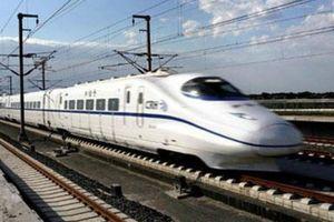 Trình Quốc hội dự án đường sắt tốc độ cao Bắc - Nam vào tháng 5/2020
