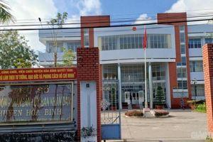 Chủ tịch HĐND huyện xin từ chức sau khi bị cảnh cáo Đảng