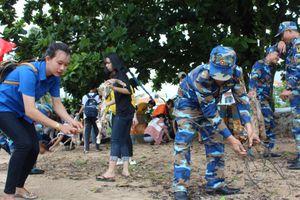 Vùng 5 Hải quân: Phát động chiến dịch 'Thanh niên Hải quân chung tay làm sạch biển và chống rác thải nhựa'