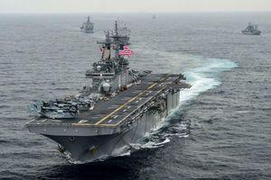 Hải quân Hoa Kỳ bắn hạ máy bay không người lái của Iran, căng thẳng vùng Vịnh leo thang