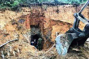 Nghệ An: Đánh sập 45 hầm khai thác quặng thiếc hết hạn